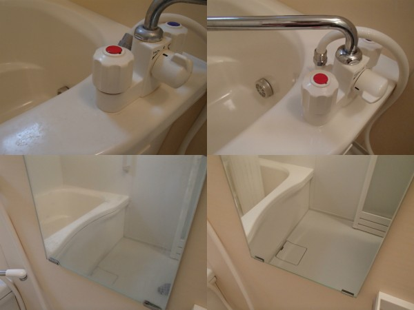 浴室の水あかやスケールを落とす