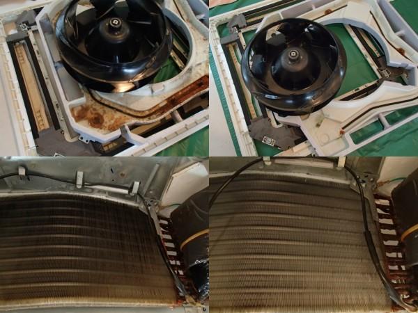 ダイキン天井埋め込み型エアコンクリーニング