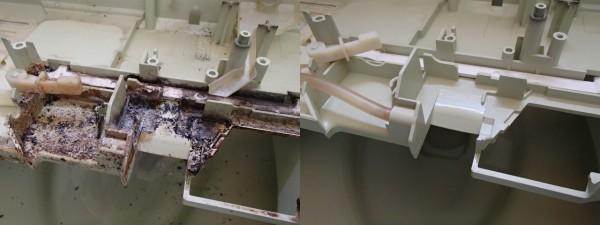 ウォシュレットの分解クリーニング,タンクやノズルや換気機能,基盤もみんな外して