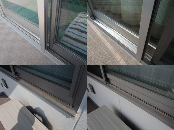 1年に一度の窓ガラスとベランダ洗い