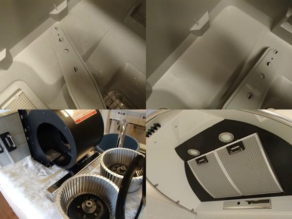 食洗機内部と換気扇の分解クリーニング