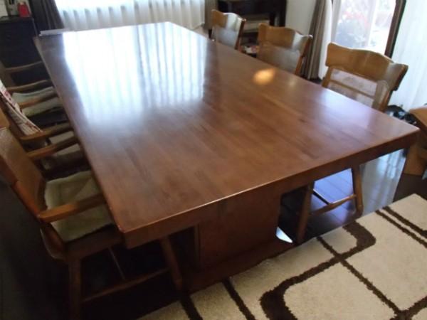 移動に難儀した重たいテーブル天板