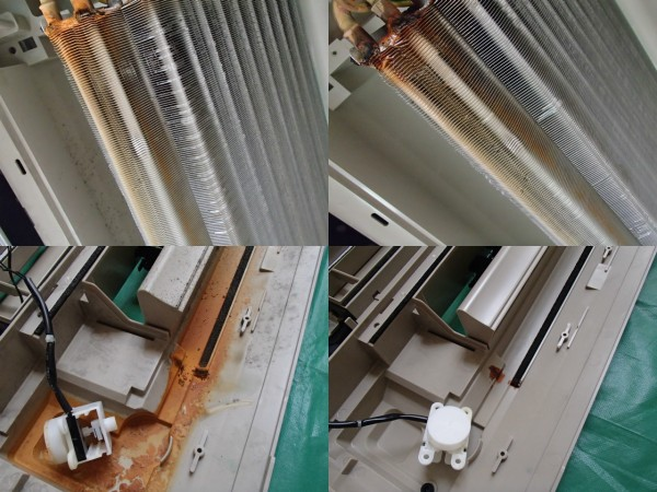 天井埋め1方向のエアコンクリーニング