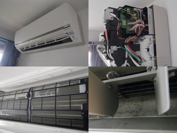 パナソニックフィルター自動お掃除エアコンクリーニング
