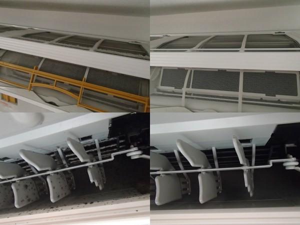 ダイキンフィルター自動お掃除機能付きエアコンクリーニング