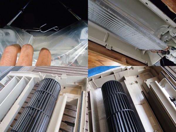 ナショナル天井埋め込み型エアコンクリーニング