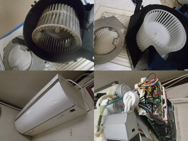 シャープのお掃除エアコンクリーニング