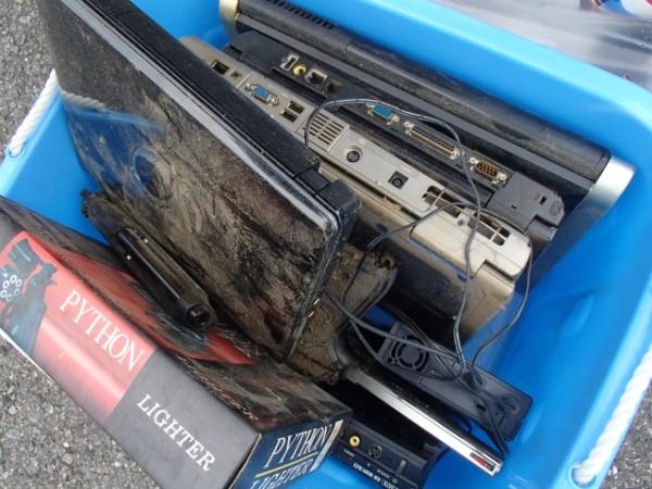 不用品の中には使えるパソコンも