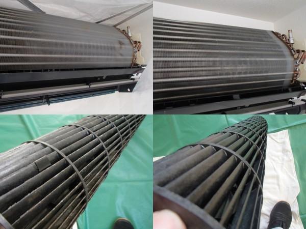東芝製お掃除エアコンの分解クリーニング