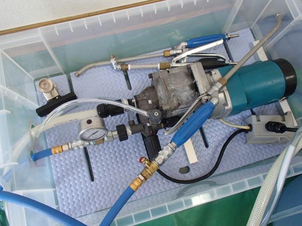 マキタの高圧洗浄機