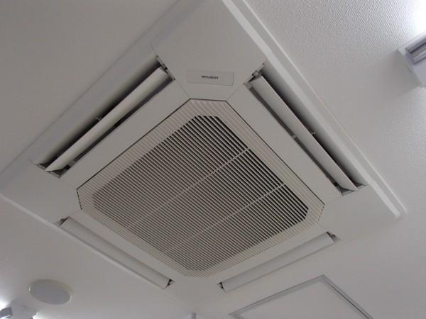 三菱電機製ビル用マルチ,天井埋め4方向