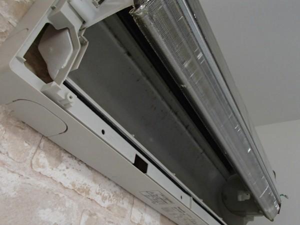 熱交換器の洗浄前