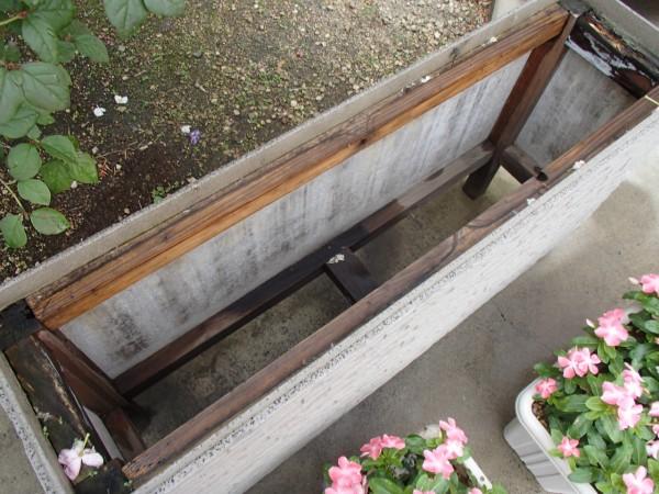 花台の修理