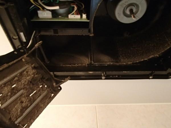 浴室の暖房換気扇
