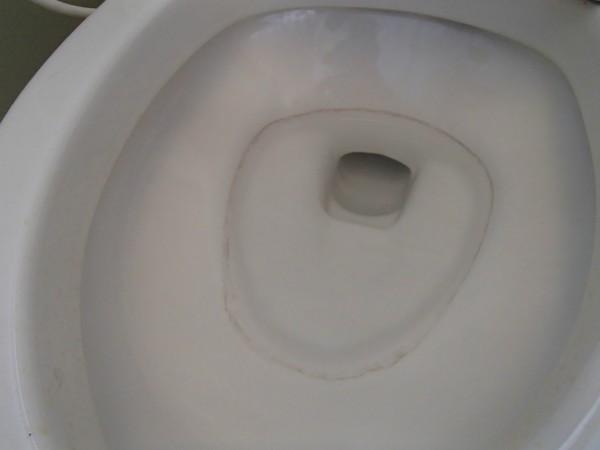 2階のトイレの陶器