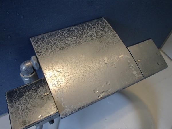混合栓化粧板