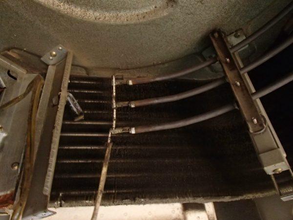 熱交換器洗浄前