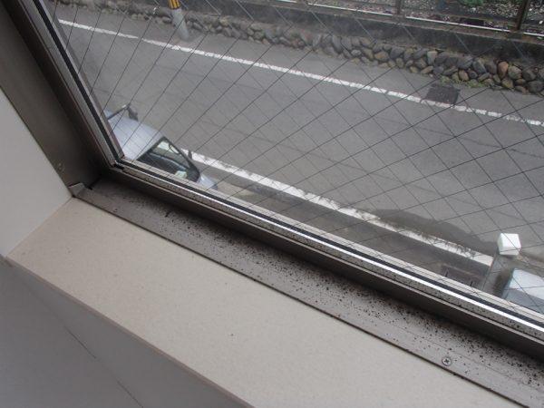 高所窓ガラスのお掃除