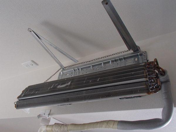 壁掛けオーバーホールの熱交換器