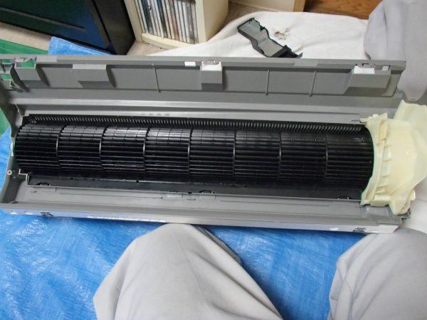 熱交換器に戻す前のボディ
