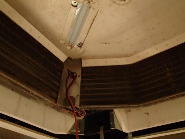 天井埋めエアコンの熱交換器