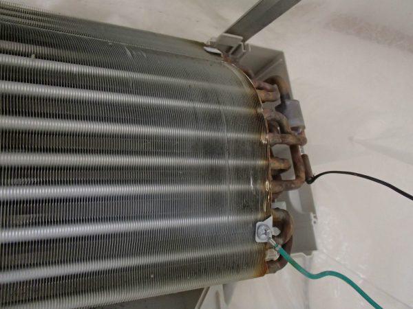 熱交換器の下処理