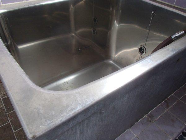 ステンレス浴槽