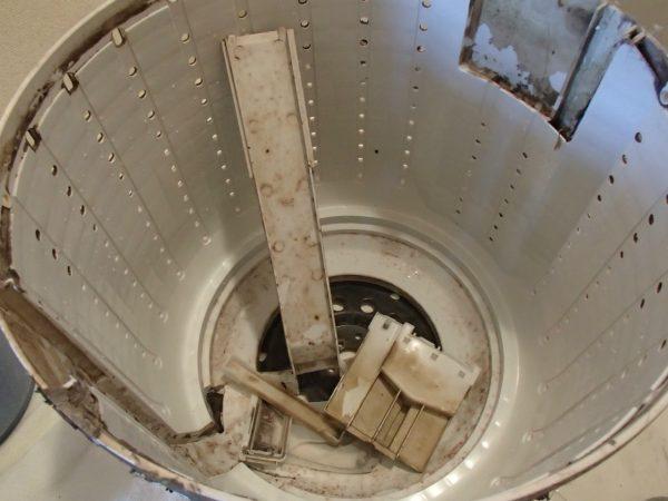 脱水槽の部品