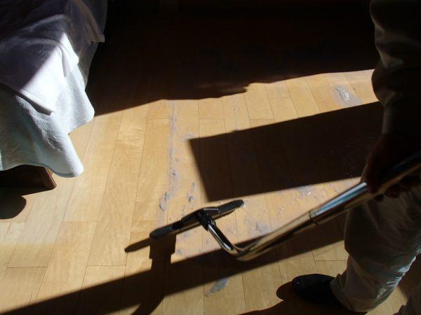 床の剥離洗浄