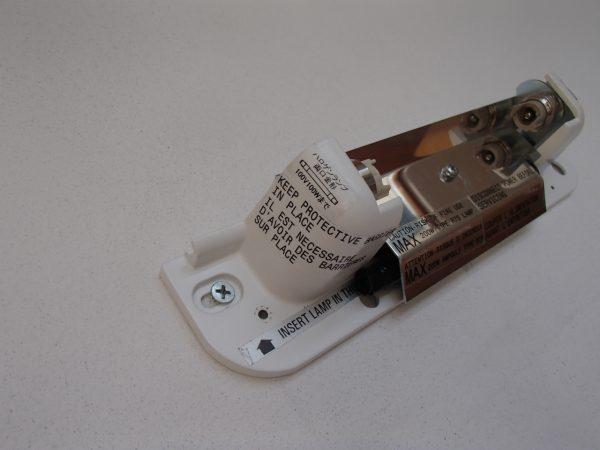 ハロゲンバルブを使った照明器具