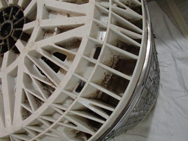 底円盤の汚れ
