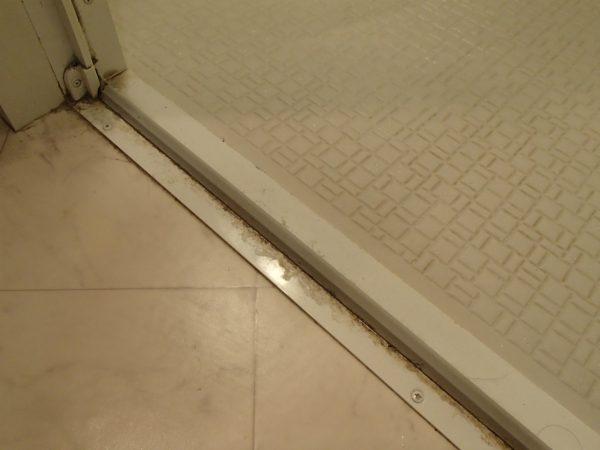 浴室ドアの枠