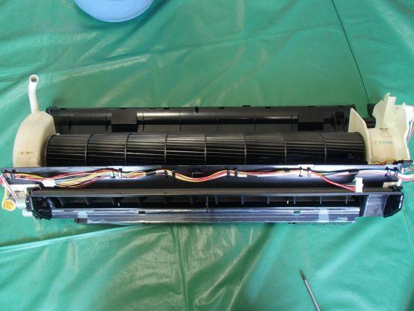 熱交換器に戻す前の支度