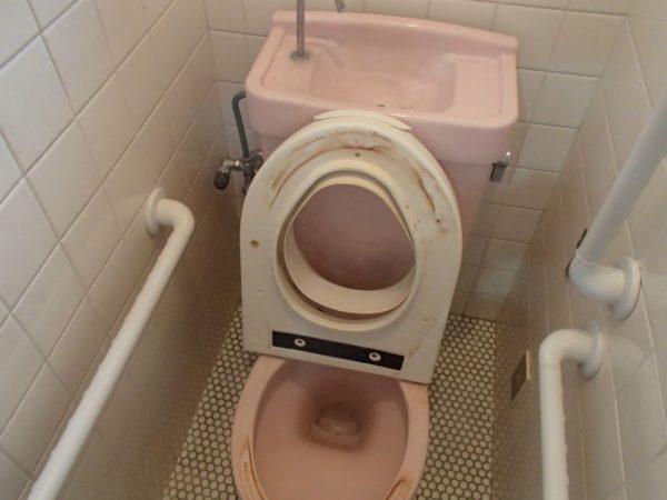 トイレのシャワー便座と陶器