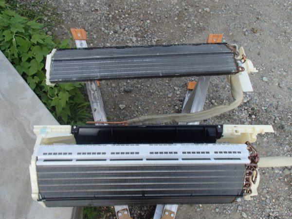 熱交換器も乾燥中