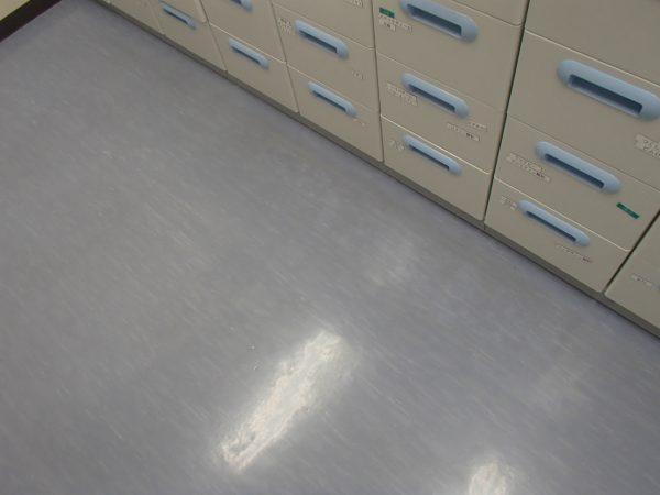 調剤室の剥離洗浄,作業前
