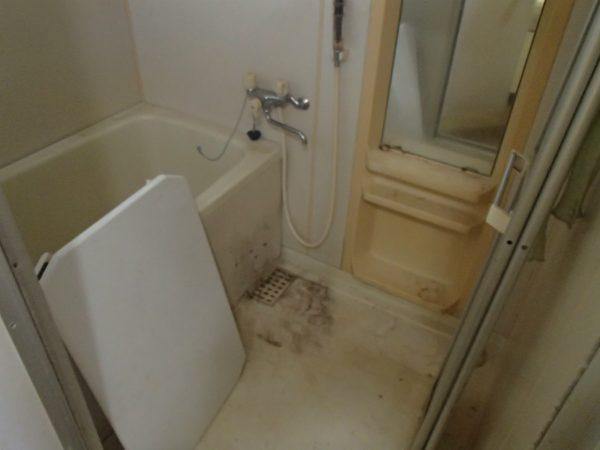 浴室お掃除前