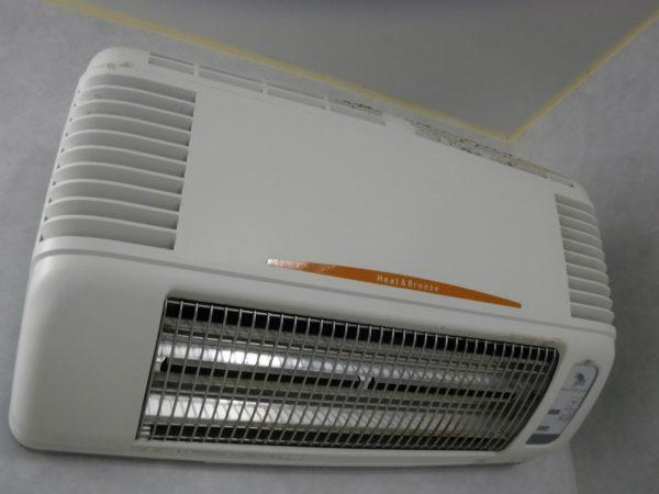 浴室感想暖房機