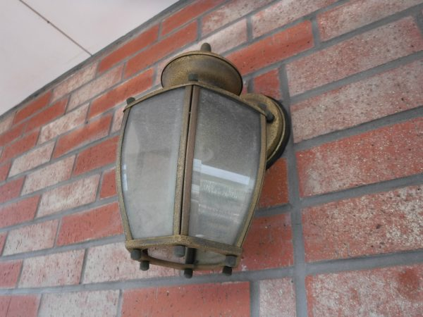 ベランダの外灯