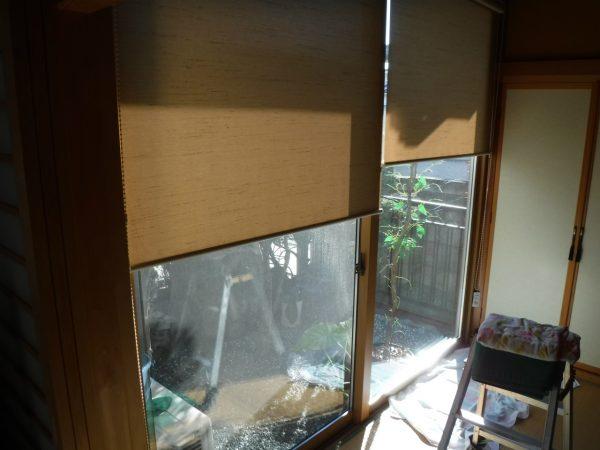 窓のお掃除