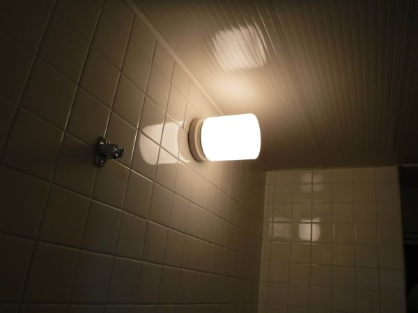 浴室漂白洗浄後