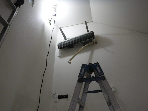 設置3メートルでも壁掛けオーバーホール