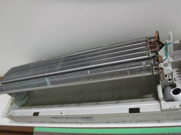 熱交換器と壁側ボディ