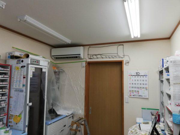 エアコンの設置場所について