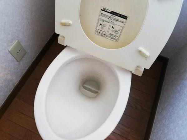 トイレ便座と陶器