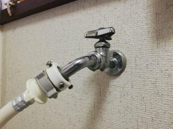 水栓の水滴