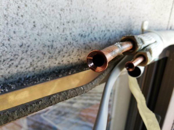 ガス管のフレア