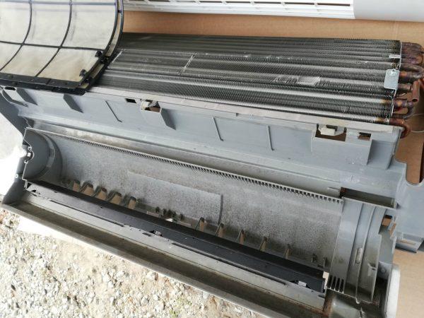 熱交換器とバケットボディ