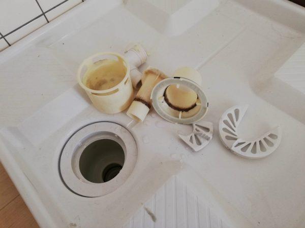 洗濯機排水溝