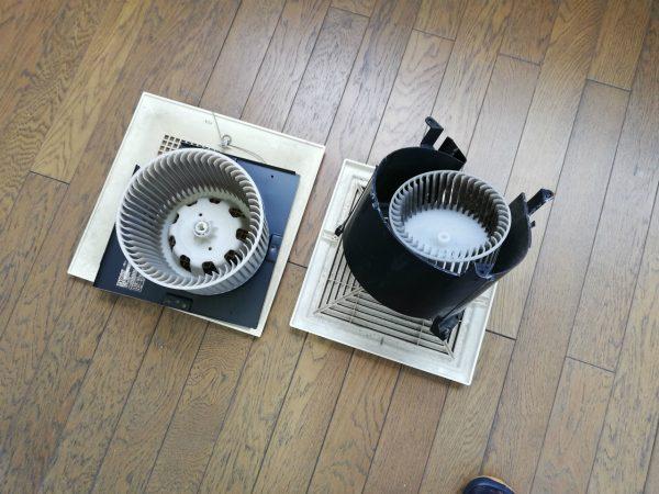 天井埋め込み換気扇